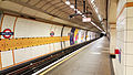 Gants Hill tube station, Westbound platform, looking West.jpg