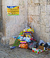 Garbage dumped in violation of sign above it, Jerusalem.jpg