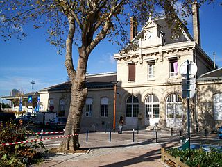 Pantin station railway station in the commune of Pantin, France