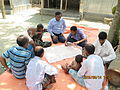Gathering in a meeting of villagers in an Bangladeshi village 2015 36.jpg