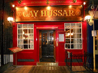 The Gay Hussar