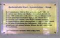 Gedenktafel Hindenburgdamm 30 (Lichf) Karl Landsteiner.JPG