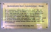 gedenktafel hindenburgdamm lichf karl landsteiner