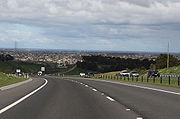 Geelong Ring Road section 3 downhill Waurn Ponds 2009