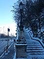 Gellért Hill's stairs, Hegyalja út, 2016 Budapest.jpg