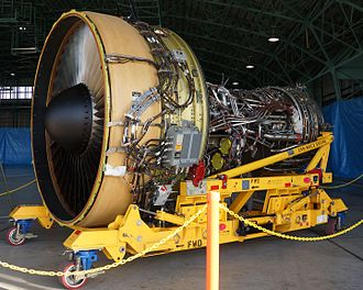 General Electric CF6 - CF6-80C2K1F Engine for the Kawasaki C-2