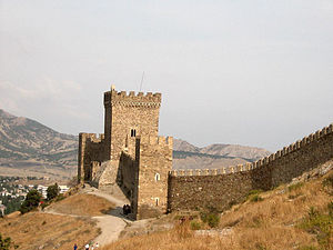 Genoese fortress tower.jpg