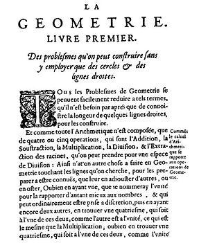 La Géométrie - La Géométrie
