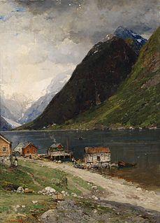 Georg Anton Rasmussen Norwegian painter
