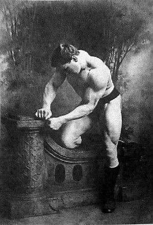 George Hackenschmidt - Hackenschmidt, ca. 1900