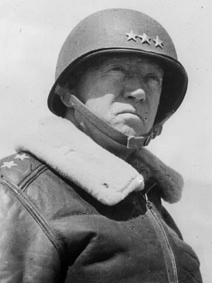Three-star rank - Lieutenant General Patton during World War II