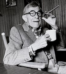 George Burns w 1986 roku