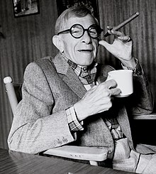 L'actor y guionista estatounitense George Burns, en una imachen de 1986.