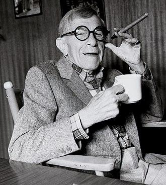 George Burns - George Burns in 1986