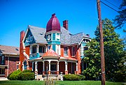 George Franklin Barber 1890 Victorian House At 3904 Floral Avenue Norwood Ohio