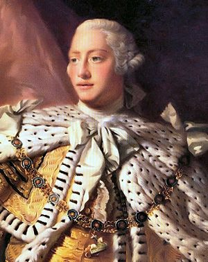 Electorate of Brunswick-Lüneburg - Image: George III of the United Kingdom