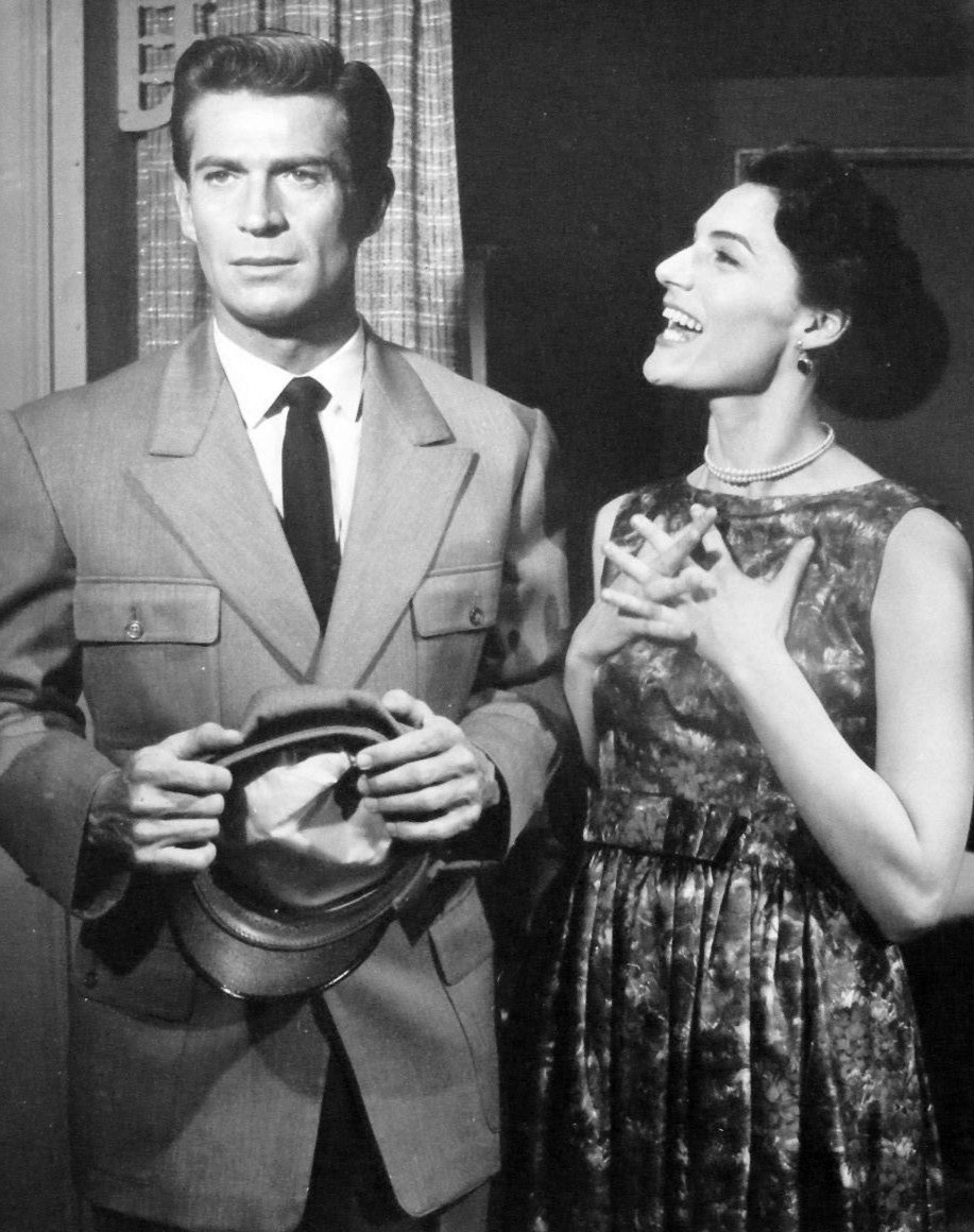 George Nader Marian Seldes Further Adventures of Ellery Queen 1959