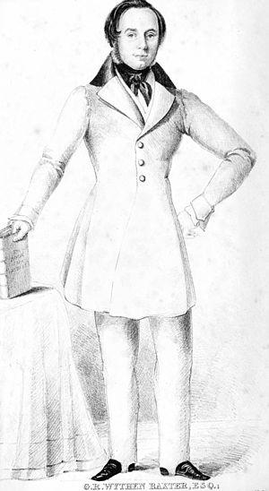 George Robert Wythen Baxter - George Robert Wythen Baxter c.1841