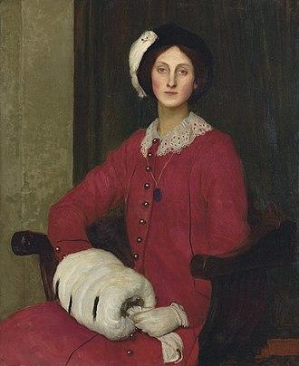 George Spencer Watson - Portrait of Hilda Spencer Watson