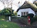 George VI postbox, Ibsley - geograph.org.uk - 1110187.jpg