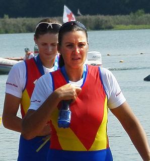 Georgeta Damian Romanian rower