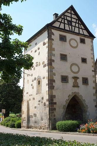 Gerabronn - Gerabronn Town gate