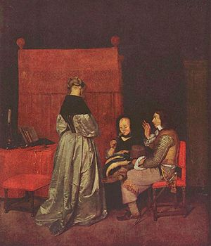 The Gallant Conversation - Gemäldegalerie Berlin