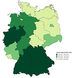 Map Of States Of Germany.List Of German States By Grp Wikipedia