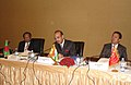 Ghulam Nabi Azad chairing the 22nd Executive Committee Meeting of the Partners in Population & Development (PPD), an alliance of 25 member countries from Asia, Africa and Latin America, at Kampala on March 25, 2013.jpg