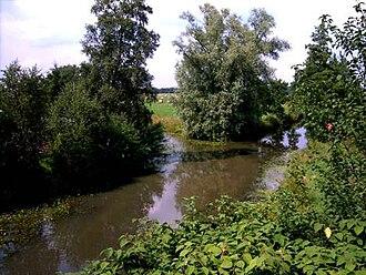 Hamme (river) - Image: Giehlerbach kollbeck