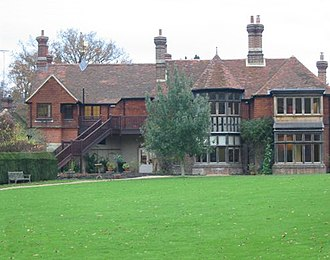 Selborne - Image: Gilbert White's House rear view (1)