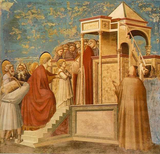 Файл:Giotto - Scrovegni - -08- - Presentation of the Virgin in the Temple.jpg