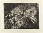Giovanni Battista Piranesi - Le Carceri d'Invenzione - Second Edition - 1761 - 11 - The Arch with a Shell Ornament.jpg