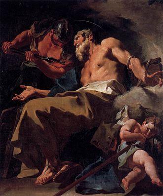 San Stae - Giambattista Pittoni, Torture of St Thomas