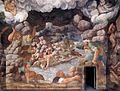 Giulio Romano - View of the Sala dei Giganti (west wall) - WGA09545.jpg