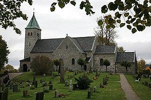 Sondre Bratland - Gjerpen church, where many of Bratland's albums are recorded