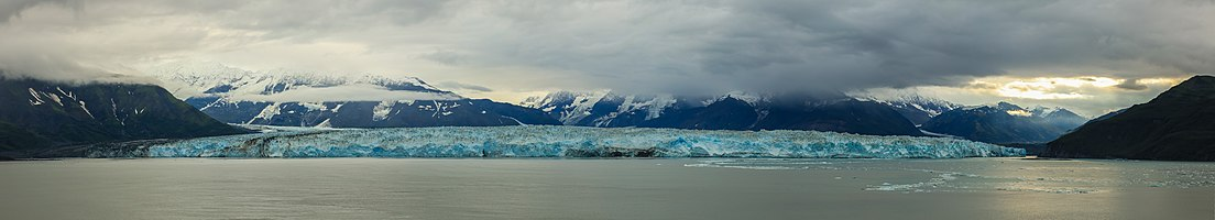 Hubbard Glacier, Alaska, United States.