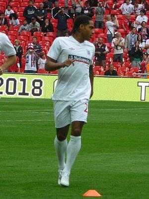 Glen Johnson - Johnson warming up for England in 2009