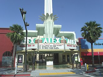Alex Theatre - Image: Glendale, Ca. Alex Theatre 1925 1