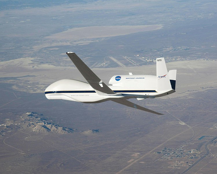 File:Global Hawk, NASA's New Remote-Controlled Plane - October 2009.jpg