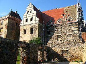 Gola Dzierżoniowska Castle - Image: Gola Caste Etat Actuel