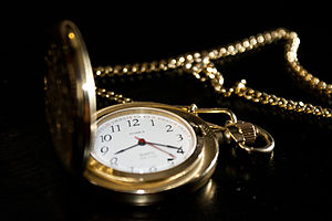 Pocket watch - A Gold Chaika Pocket Watch made in the USSR in the 1970s.