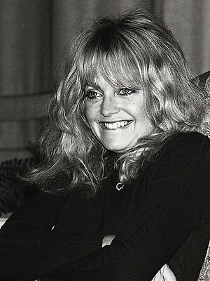 Goldie Hawn - Hawn at the Grand Hôtel in Stockholm 1981
