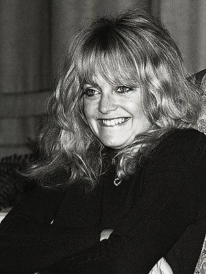 Goldie Hawn - Hawn at the Grand Hôtel in Stockholm 1981