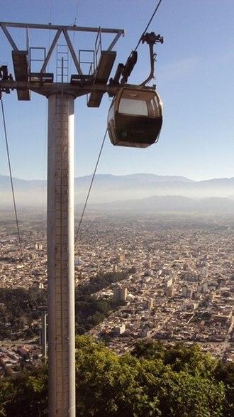 Salta - Image: Gondola in Salta, Argentina
