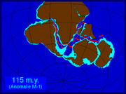 The opening of the South Atlantic