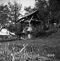"""Gorenje Zabukovje, """"ševnica"""" (zapuščena sušilnica za lan) 1951.jpg"""