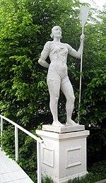 Девушка с веслом — Википедия: https://ru.wikipedia.org/wiki/%C4%E5%E2%F3%F8%EA%E0_%F1_%E2%E5%F1%EB%EE%EC