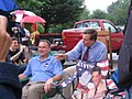 Gov. Warner and Gov. Kaine at the Local 675 Covington Labor Day Parade (235246004).jpg