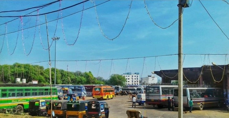 Government Bus Stand, Bhawanipatna (OSRTC)